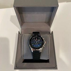 Michele Tahitian Jelly Black Watch